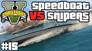 SPEEDBOOT VS SNIPERS - EPISCHER SUMO KAMPF ! | GTA V CHALLENGES