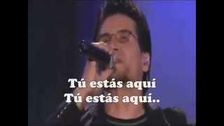 Tu estas aqui - Jesus Adrian & Marcela Gandara ( Letra - Karaoke )