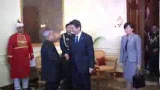 Prime Minister of Japan calls on the President - 25-01-14