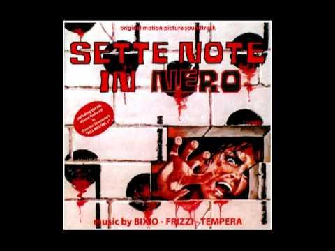 Music from Lucio Fulci's SETTE NOTE IN NERO (1977) with music by BIXIO-FRIZZI-TEMPERA