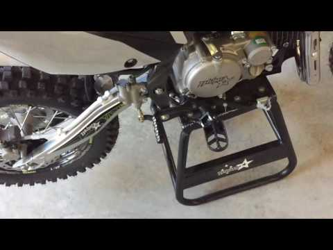 How to kick start a pit bike with lots of compression | Thumpstar