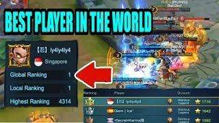 mobile legends best player in the world chou gameplay no 1 worldwide  ly4ly4ly4ly4
