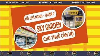 image Căn hộ cho thuê Sky Garden 2PN đầy đủ nội thất