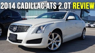 2014 Cadillac ATS 2.0L Turbo | Sunroof, Bose, AWD (In-Depth Review)