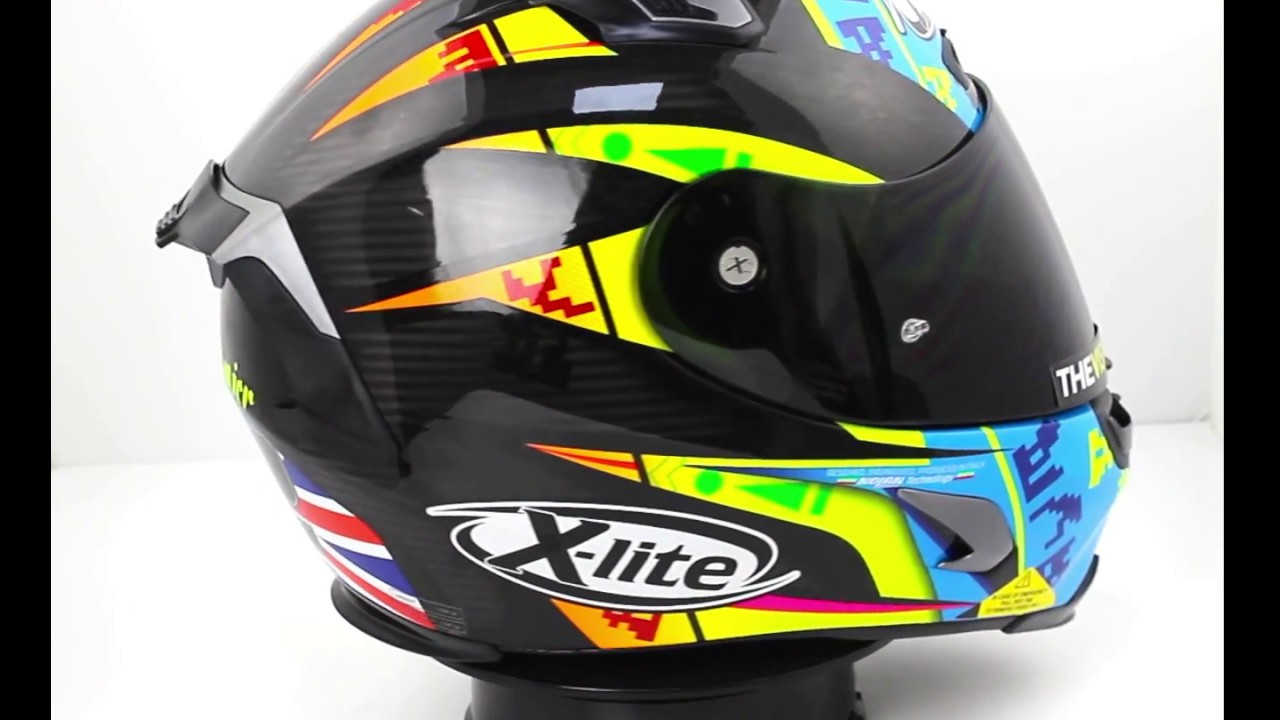 x lite x 803 l camier replica helmet youtube. Black Bedroom Furniture Sets. Home Design Ideas