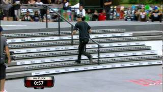 Maloof Money Cup NY 2011 Pro Finals Round 1 Jam 4 - Andrew Reynolds & Sierra Fellers