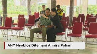 Mesranya, AHY Nyoblos Ditemani Annisa Pohan