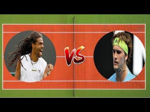 Alexander Zverev vs Dustin Brown