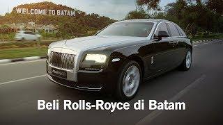 Begini rasanya naik Rolls-Royce Ghost