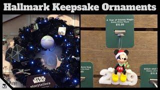 Disney Christmas Ornaments   Hallmark Keepsake July 2019