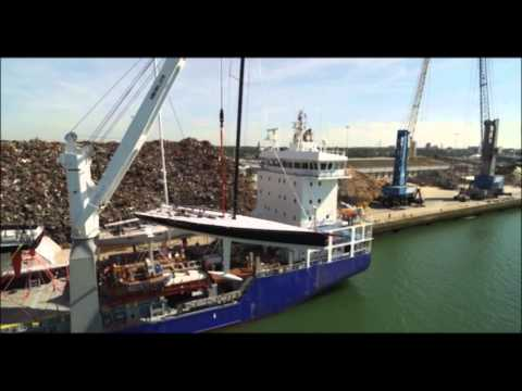 Peters & May load 6 world class racing yachts