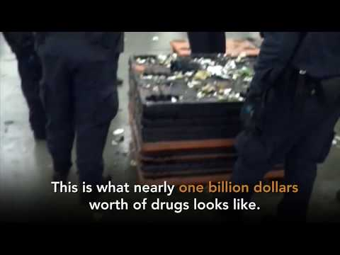 Feds seize 1.7 tons of drugs at California port