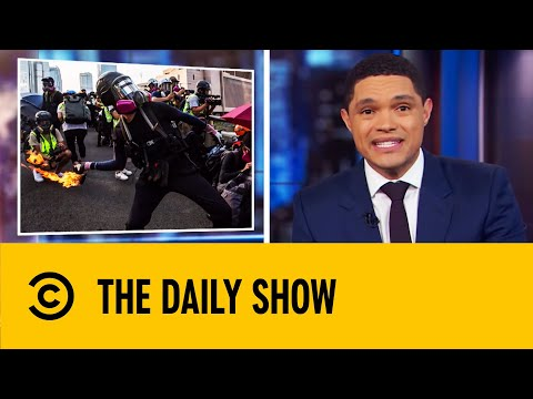 Protests In Hong Kong Turn Violent | The Daily Show With Trevor Noah