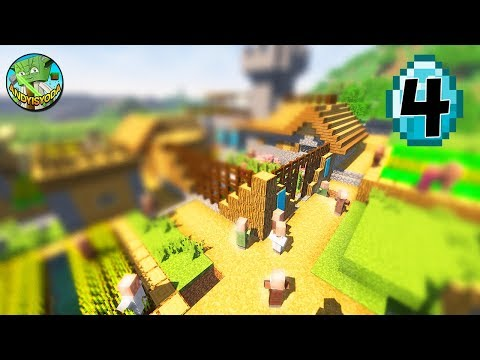 Transform a Minecraft Village into a Town E04 - MANSION!