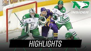 North Dakota vs. Minnesota State | Highlights | UND Hockey | 10/19/18