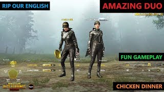 [Hindi] PUBG MOBILE | FUNNY ENGLISH WITH AMAZING DUO GAMEPLAY