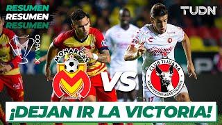 Resumen | Morelia 0 - 0 Tijuana | Copa Mx - Cuartos de Final 2020 | TUDN