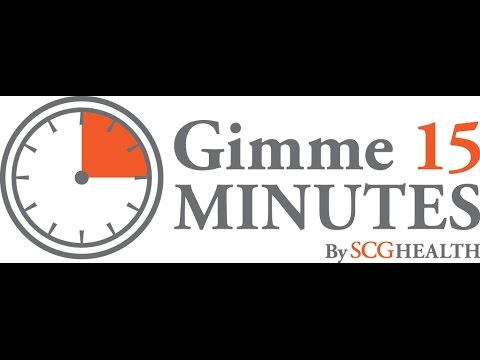 Gimme 15 Minutes: What you need to know about the Sunshine Act (Open Payments)