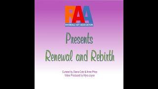 Renewal & Rebirth RAA Virtual Show April 2021