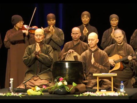 Afternoon of Mindfulness in San Francisco - Br. Phap Hai, Sr. True Vow - 2015.10.10
