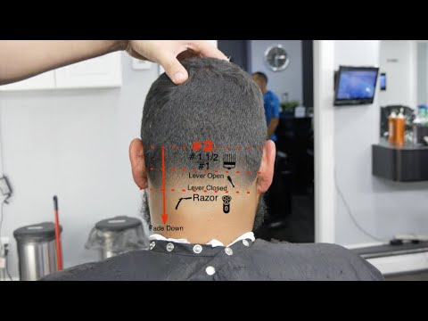 Barber Tutorial for beginners - How To do a Bald Taper + Andis Master
