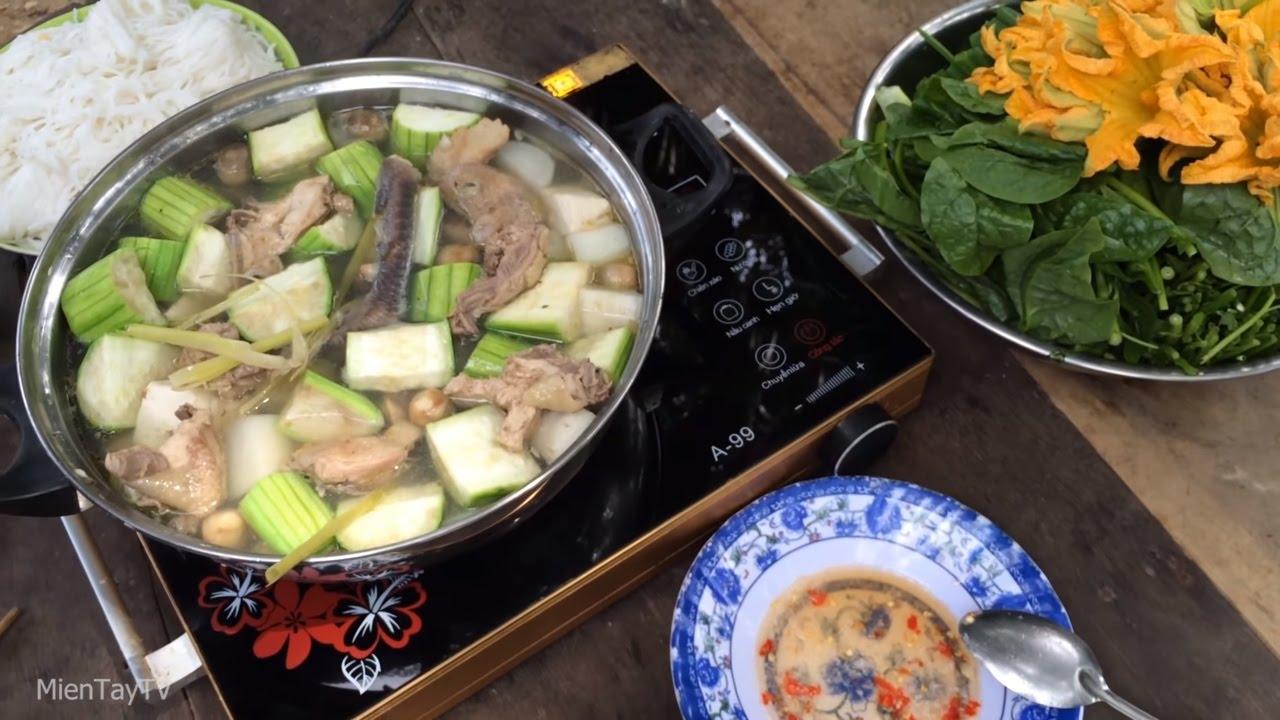 ăn Ga Hầm Sả Miền Tay Tv Youtube