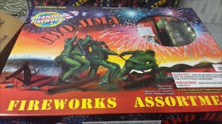 fireworks unboxing iwo jima assortment phantom