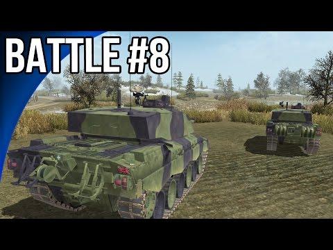 Men of War Battles #8 - Challenger 2 Vs M1A1 Abrams |