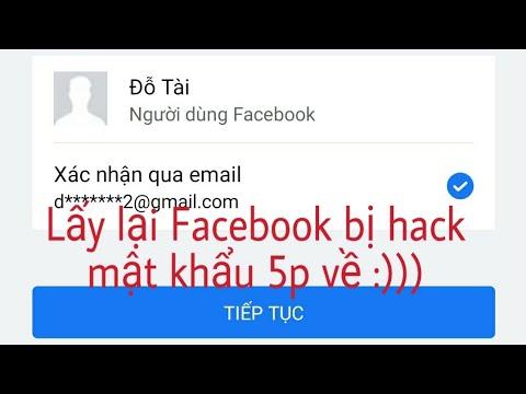 Hướng dẫn:  Lấy lại tài khoản Facebook khi bị gắn mail lạ đổi mật khẩu