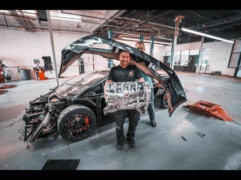 Savage Twin Turbo Lamborghini Gallardo Build