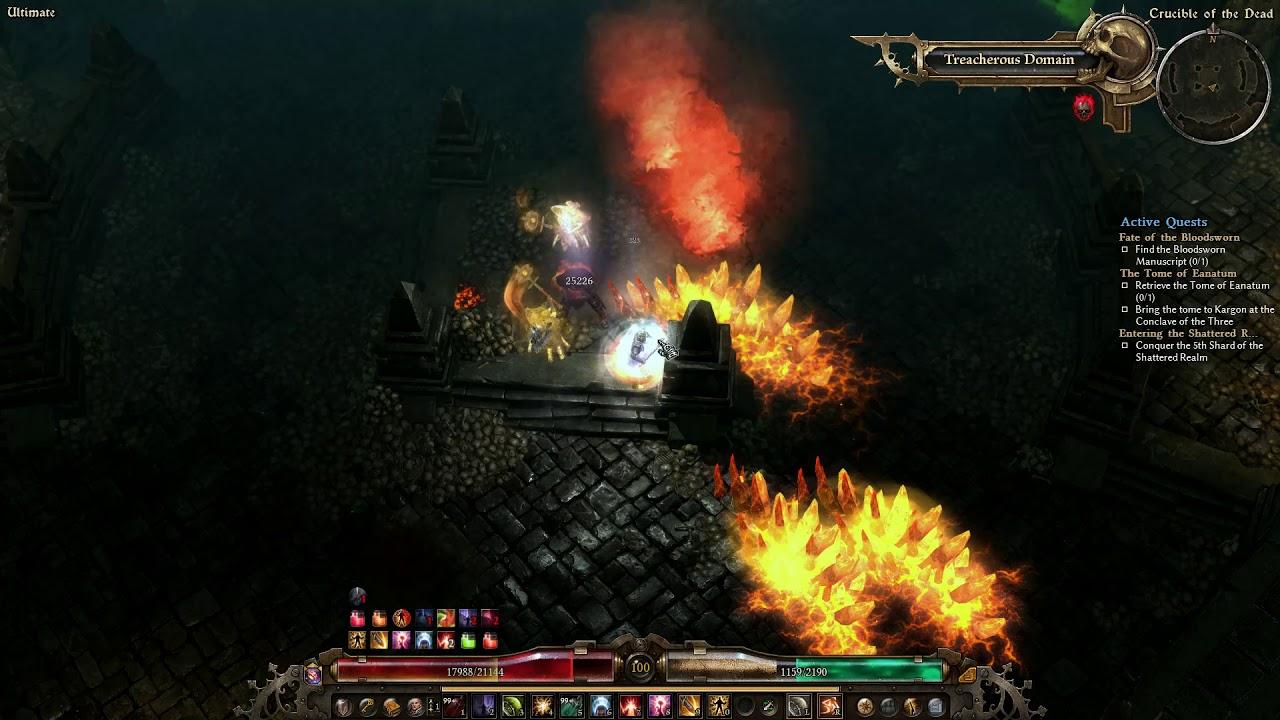 Grim Dawn Forgotten Gods/WarLord/Lokarr Easykill