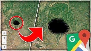 5 ENDROITS SECRETS SUR GOOGLE MAP !