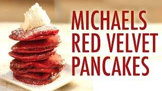 Red Velvet Pancakes | Michis Küche