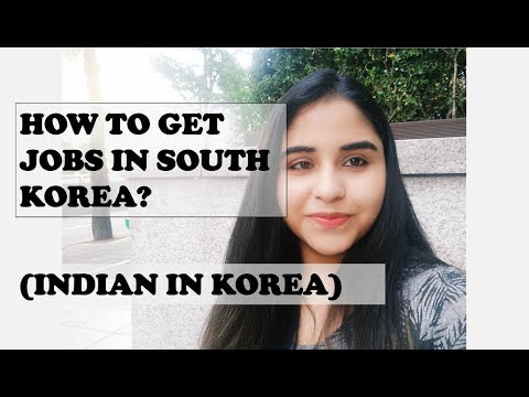 Jobs in South Korea, for Foreigners   Indian in Korea