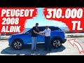 310.000 Tl Peugeot 2008 Aldik !