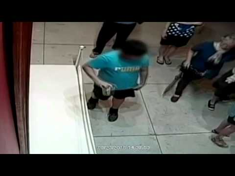 El tropiezo de un niño que rompió un cuadro de millones de euros