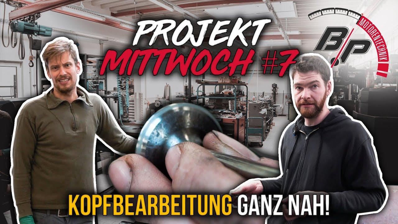 Wie bearbeitet man Köpfe? & Daniel macht Fortschritt am VR6 | Projekt Mittwoch #7 | BPMotorentechnik