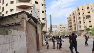 من أطلق النار على مظاهرة الغوطة الشرقية؟