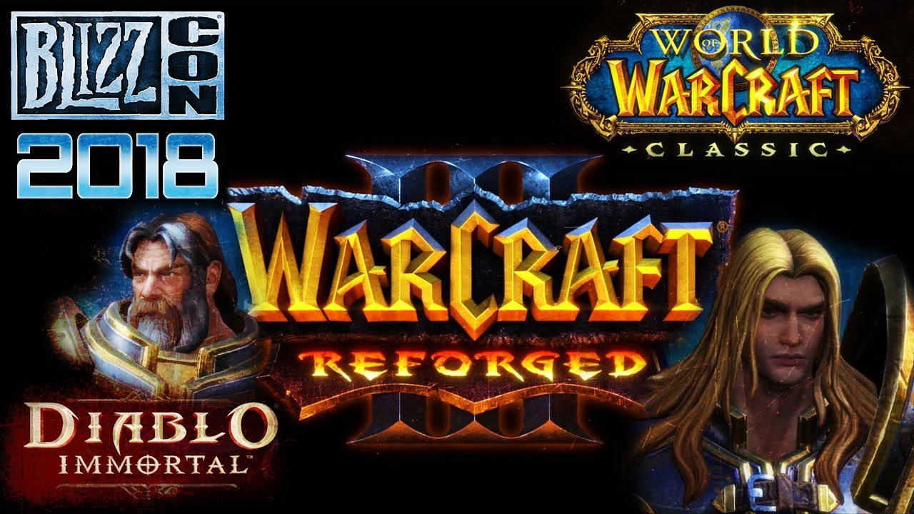 Blizzcon 2018 - Diablo, Warcraft 3 and WoW Classic (On Cooldown Ep 22)