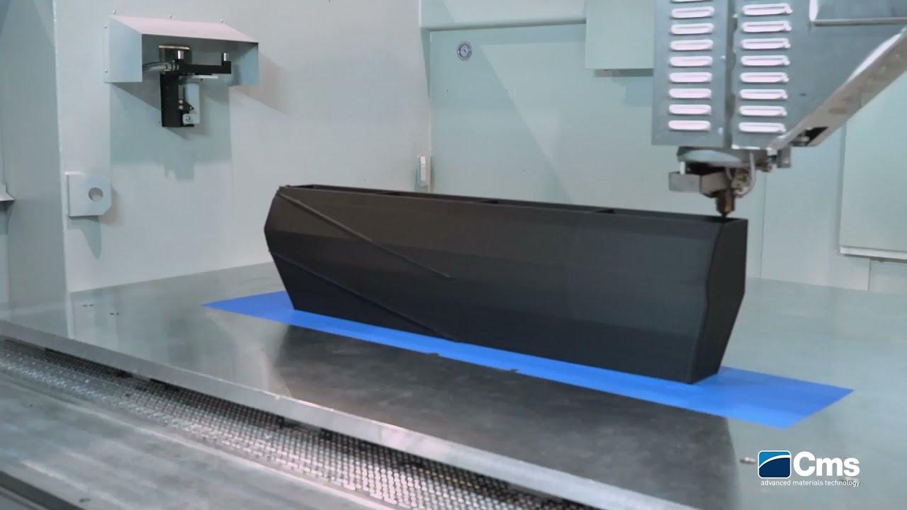 CMS debuts hybrid LFAM/milling machine
