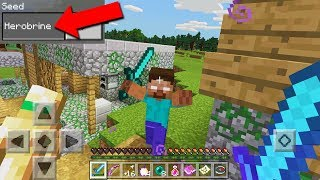 Top 3 Seeds to Find HEROBRINE in Minecraft PE