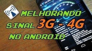 Melhorando o sinal de rede de internet 3G - 4G  estabilizando no Android (Sem Root)