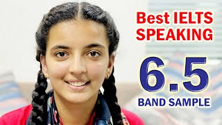 IELTS Speaking test band score of 6.5 with feedback