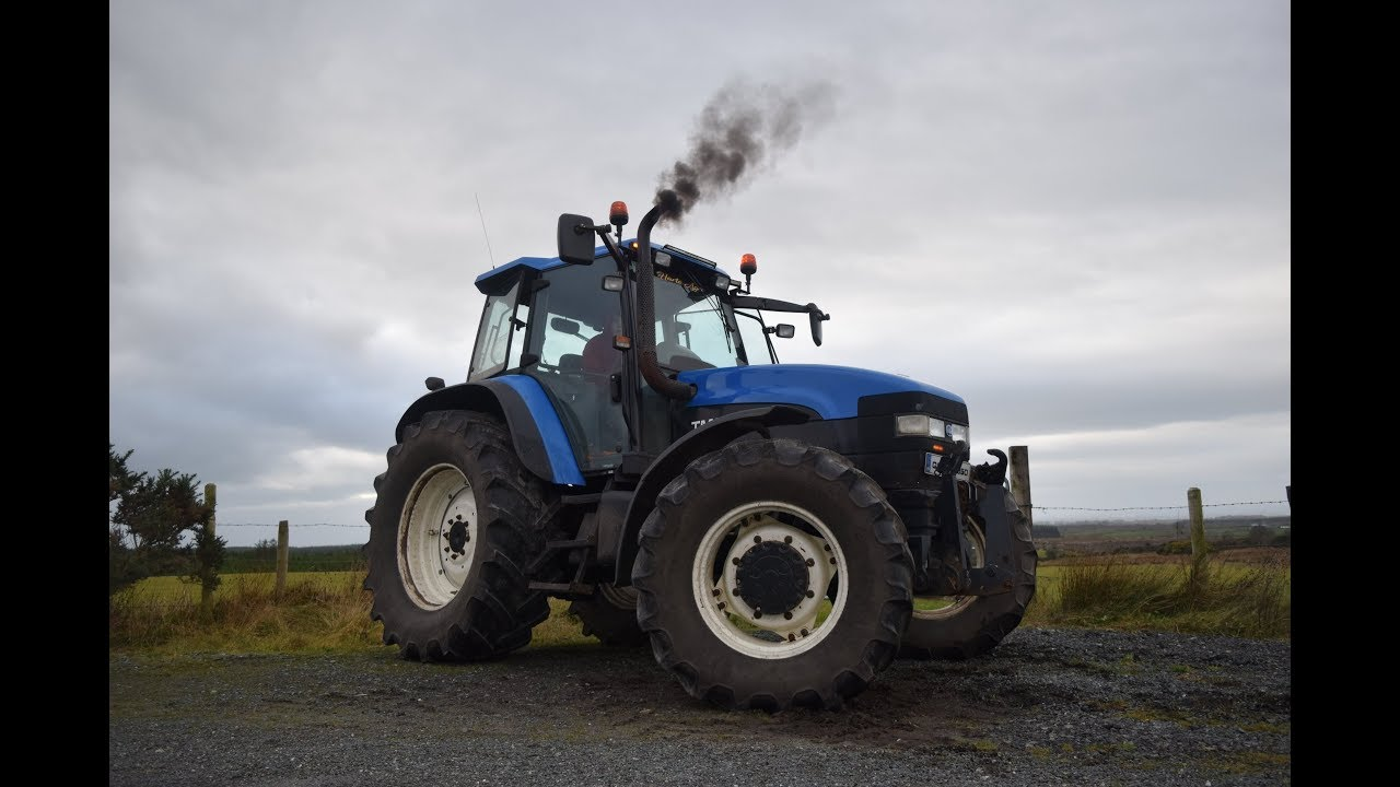 New Holland TM150 Straight pipe - HF Cars