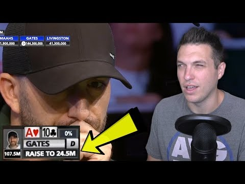 UNBELIEVABLE BLUFF! (2019 World Series Of Poker Main Event Final Table)