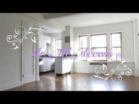 Luxurious Studio apartment tour Brooklyn Heights New York City $2200 2016