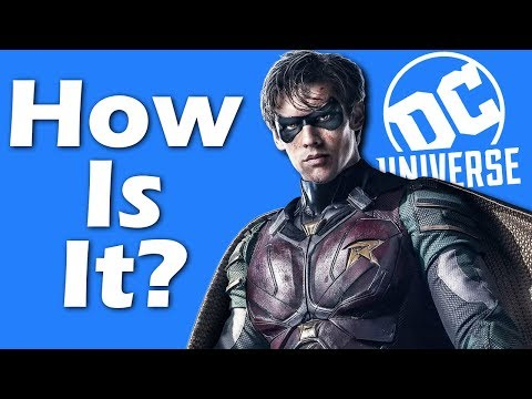 So How Is DC's New Streaming Service?