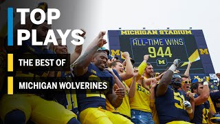 The Best of the Michigan Wolverines: 2018 Mid-Season Highlights | Big Ten Football