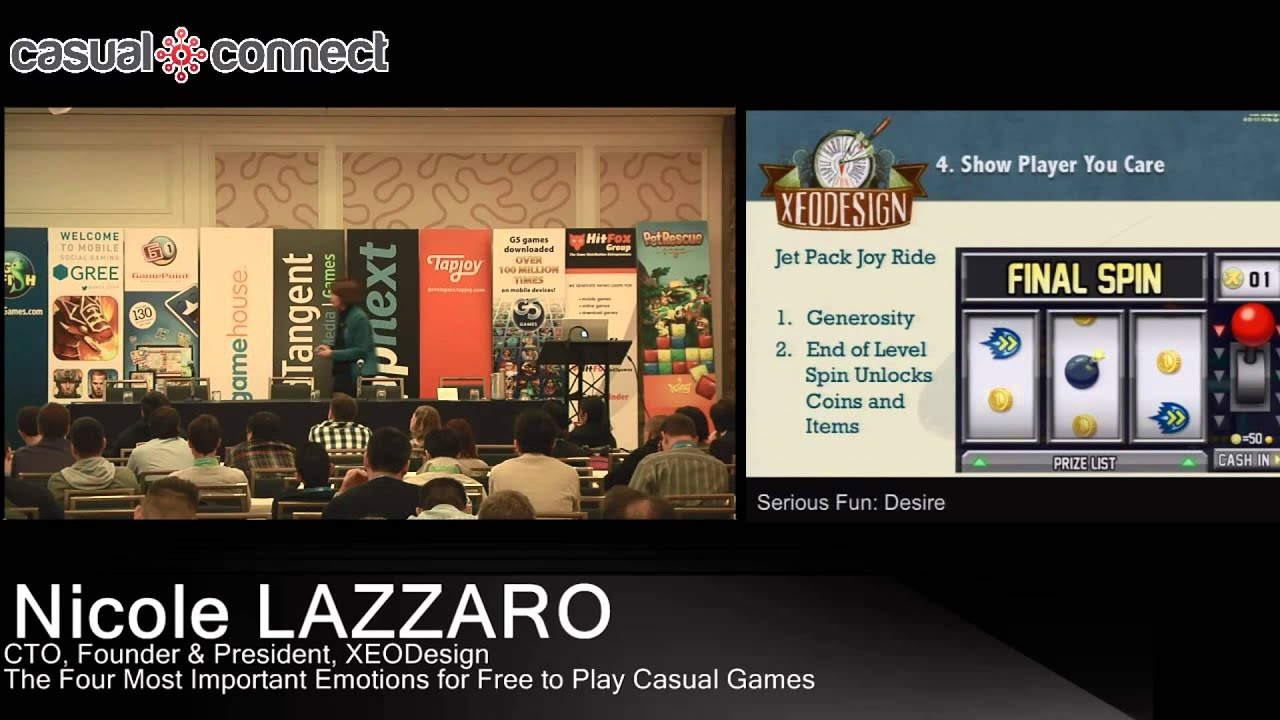 The Four Most Important Emotions For Free To Play Casual Games Nicole Lazzaro
