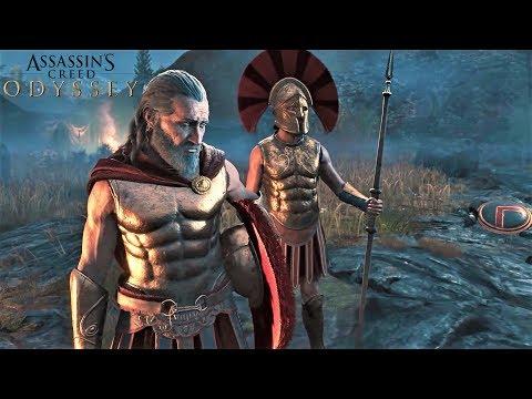 Царь Леонид и 300 Спартанцев. Битва при Фермопилах. Начальный ролик Assassin's Creed Odyssey